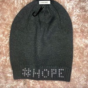 Accessories - #HOPE Gray Silver Knitted Beanie